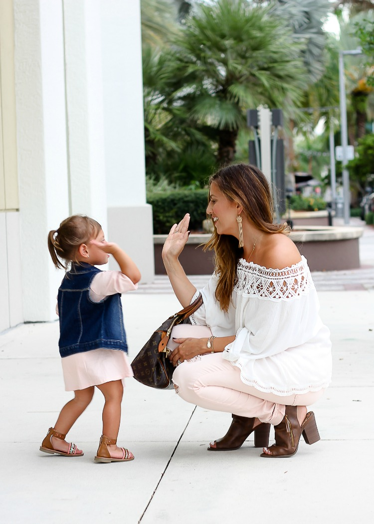 Things I Swore I Wouldn't Do As A Mom That I Totally Do // Mommy and Me style