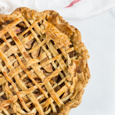 Salted Maple Caramel Apple Pie Recipe
