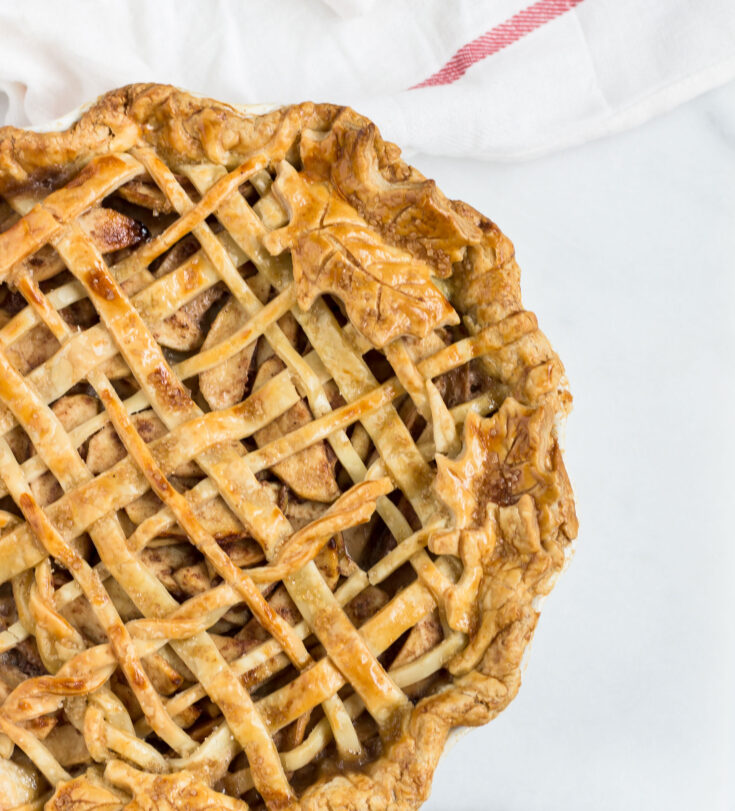 Salted Maple Caramel Apple Pie Recipe
