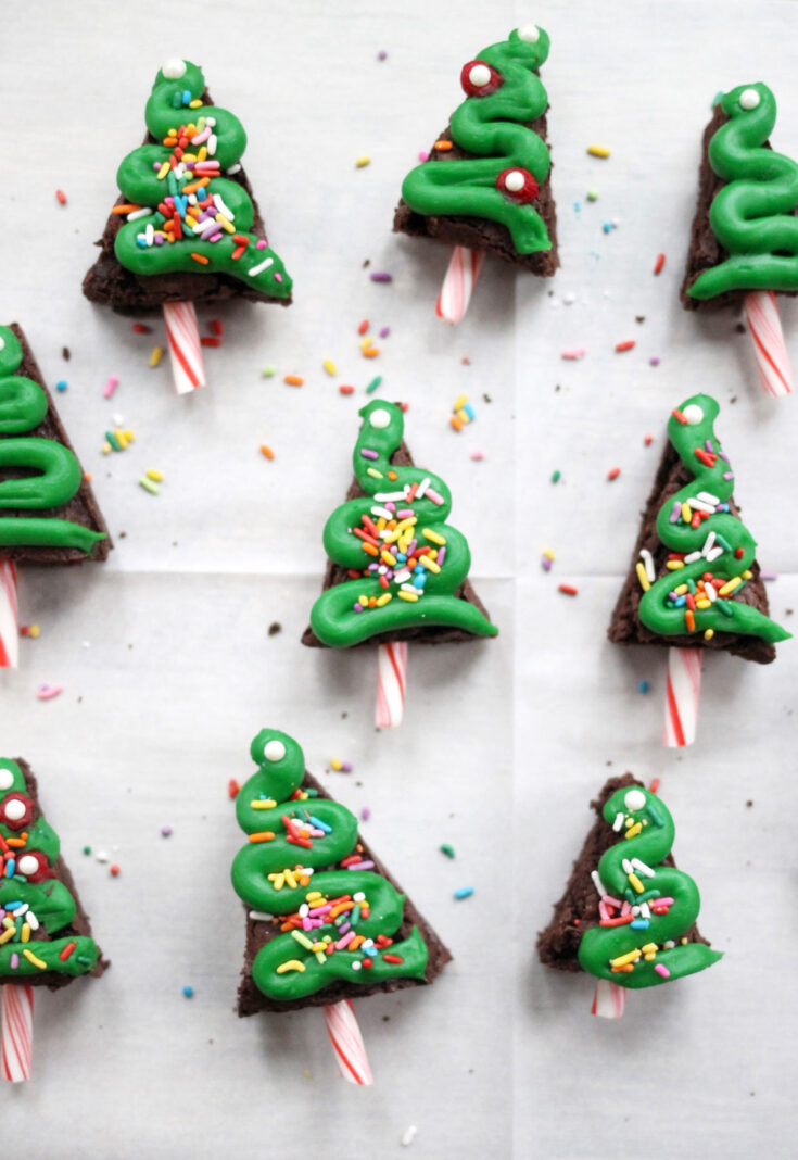 Easy Christmas Brownies