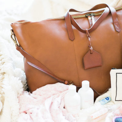 My Hospital Bag Essentials by popular North Carolina mom blogger Glitter, Inc.