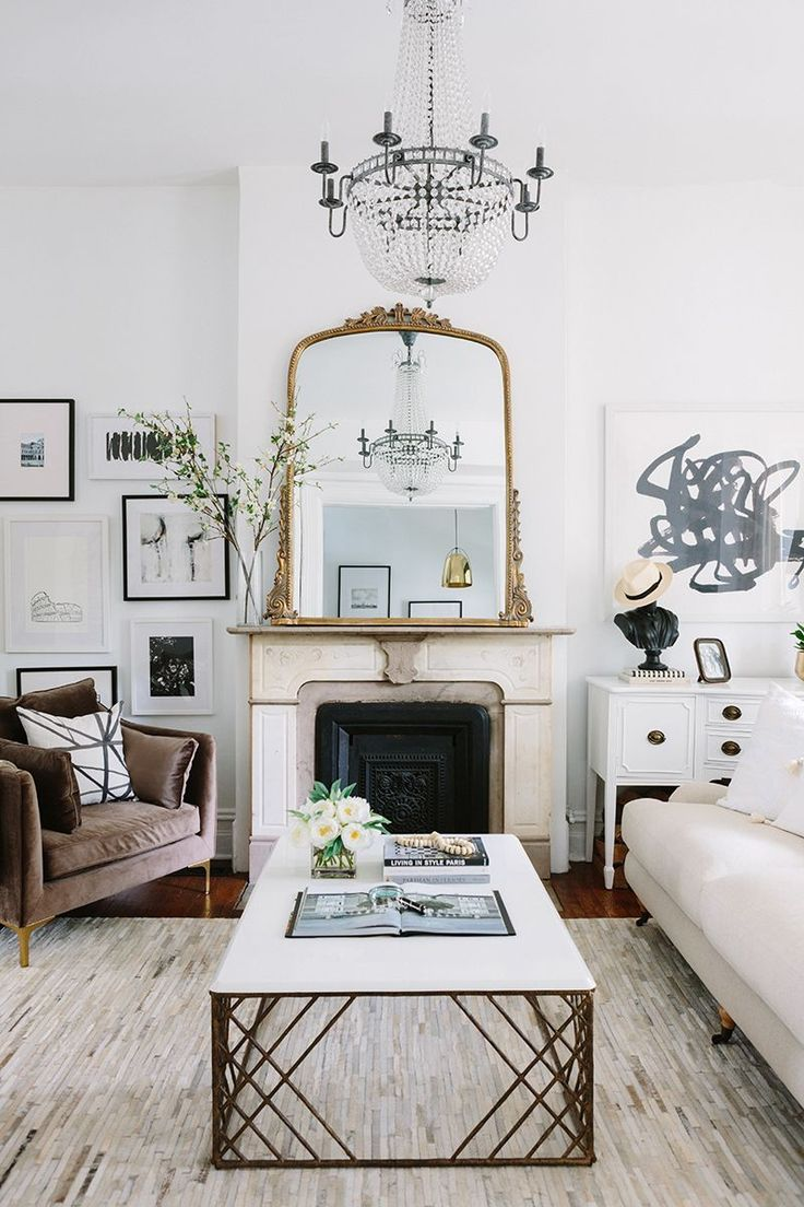 Crushing on intricate and ornate mirrors. Where to find them, plus plenty of inspiration. | glitterinc.com | @glitterinc - Home Design Trends: Ornate Mirrors by popular North Carolina lifestyle blogger Glitter, Inc.