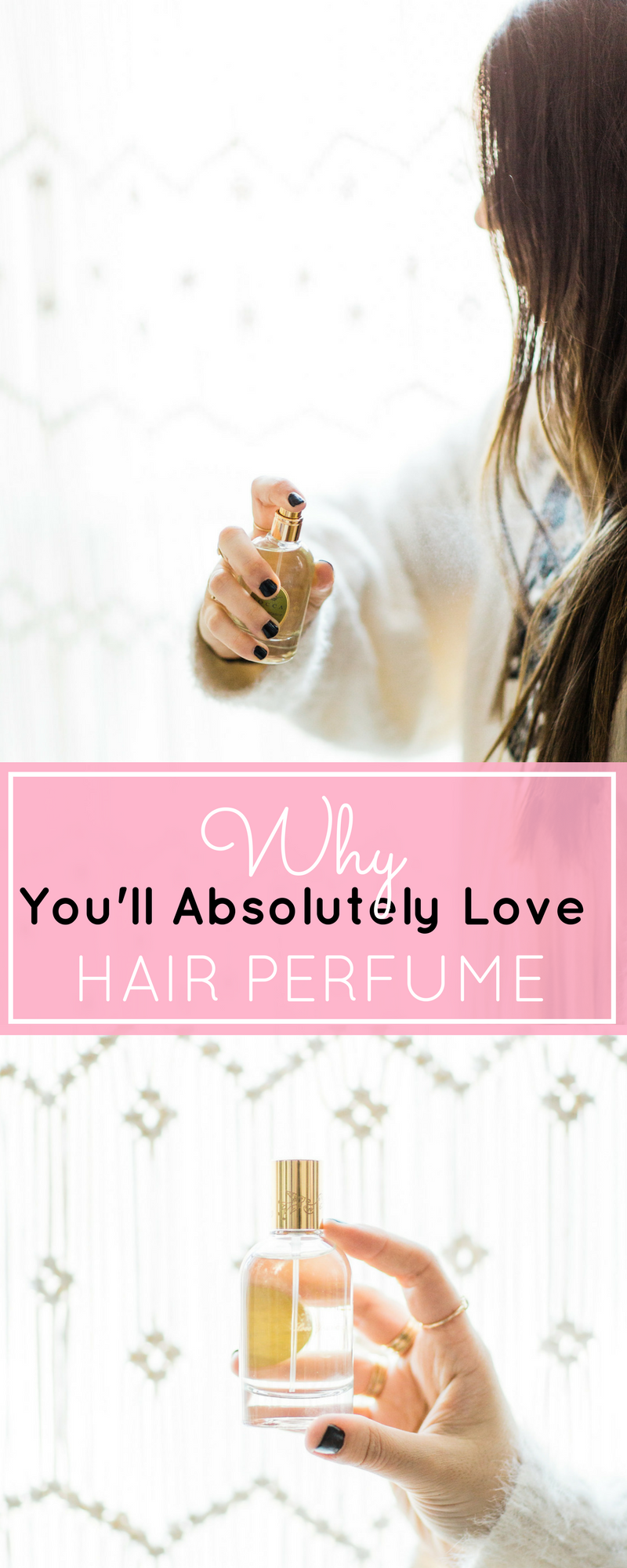If you want to smell amazing all day long, try Tocca hair perfume. It's fragrant and feminine and gives you perfectly glossy locks. | glitterinc.com | @glitterinc - Why You'll Absolutely Love Hair Perfume by popular North Carolina style blogger Glitter, Inc.