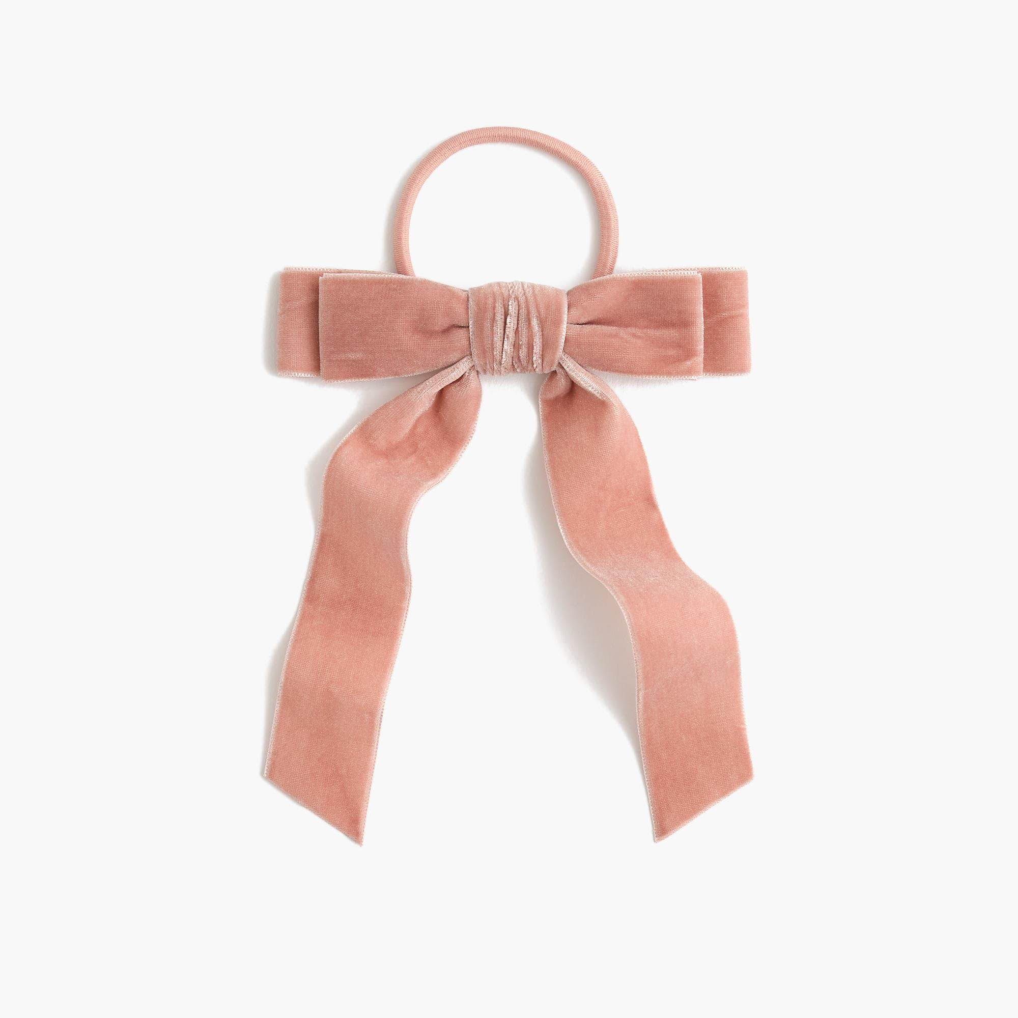 Blush Velvet Hair Tie - Weekly Picks by North Carolina style blogger Glitter, Inc.