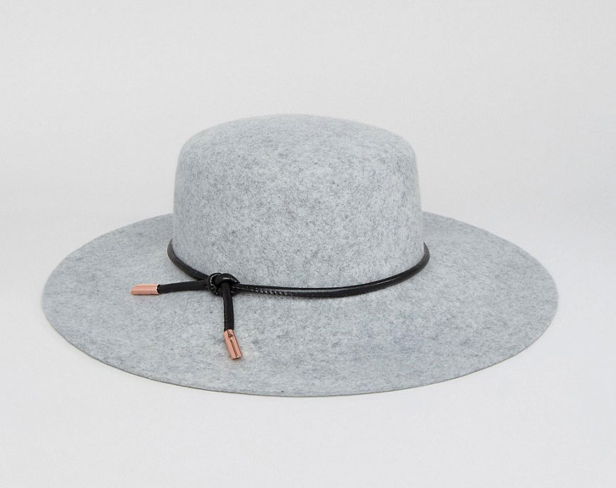 ASOS Ted Baker Rope Trim Flat Brimmed Hat - Weekly Finds by popular North Carolina style blogger Glitter, Inc.