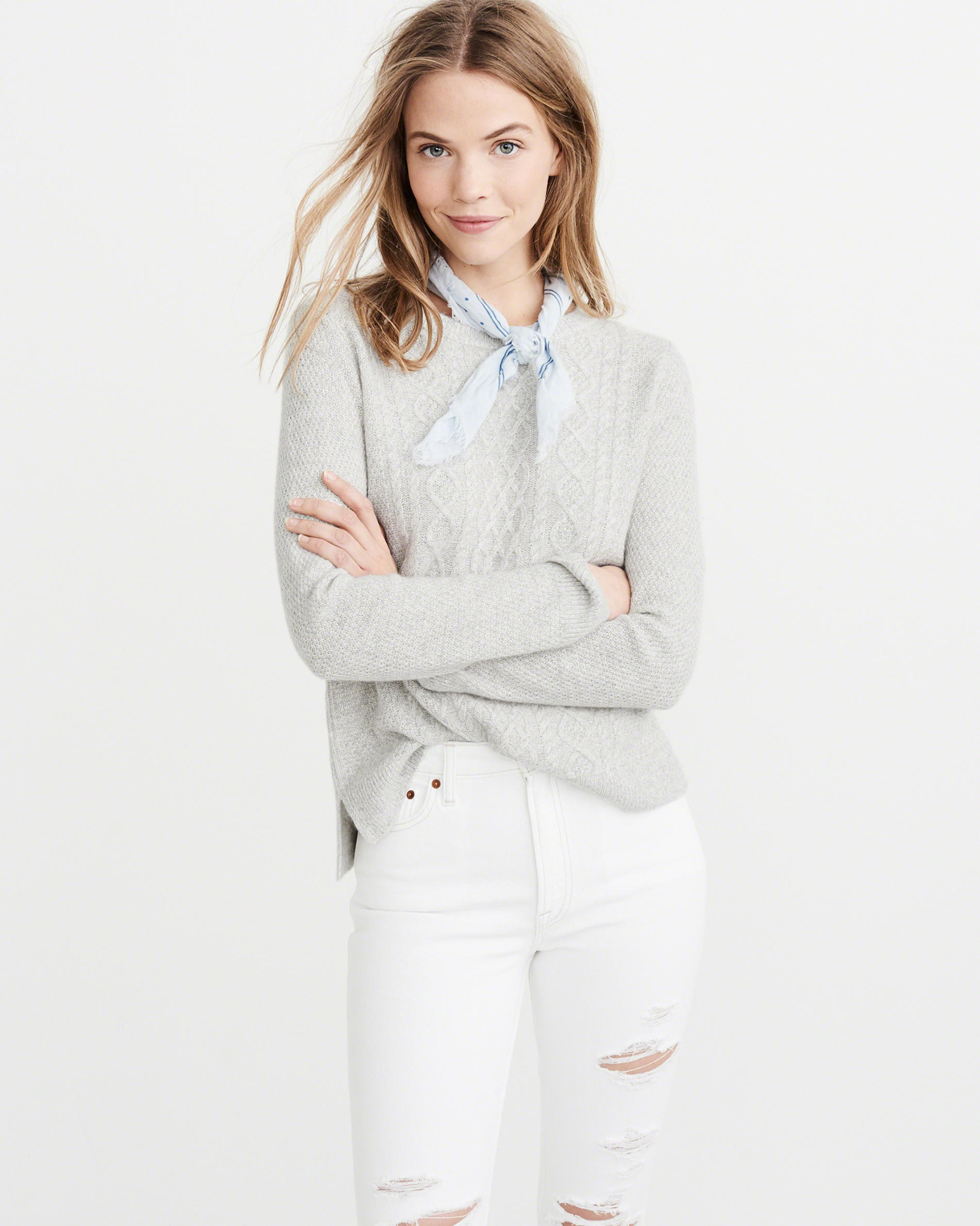 Cashmere-Linen Blend Sweater - Weekly Finds by popular North Carolina style blogger Glitter, Inc.