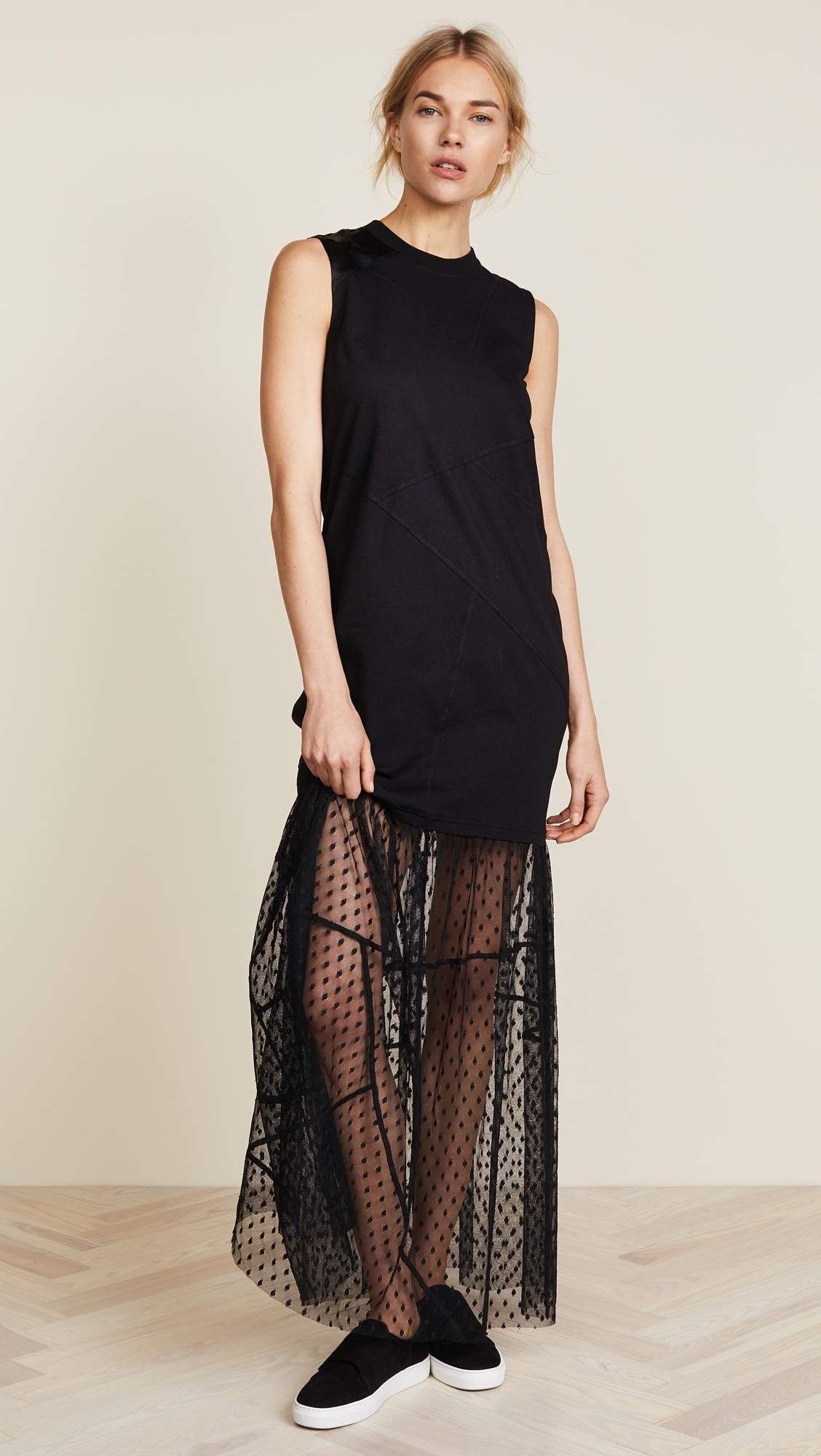 McQ Cut Up Hybrid Dress - Weekly Finds by popular North Carolina style blogger Glitter, Inc.