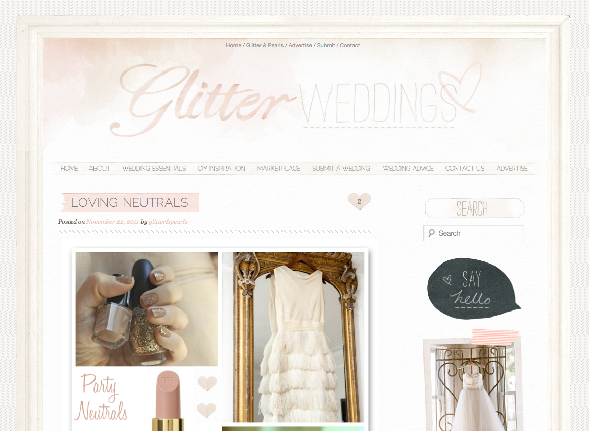 Come meet the all new Glitter, Inc., a lifestyle and entertaining site filled to the brim with fashion and beauty, home décor and DIY's, recipes, family adventures, and plenty of parties along the way. Plus a dash of confetti. | glitterinc.com | @glitterinc