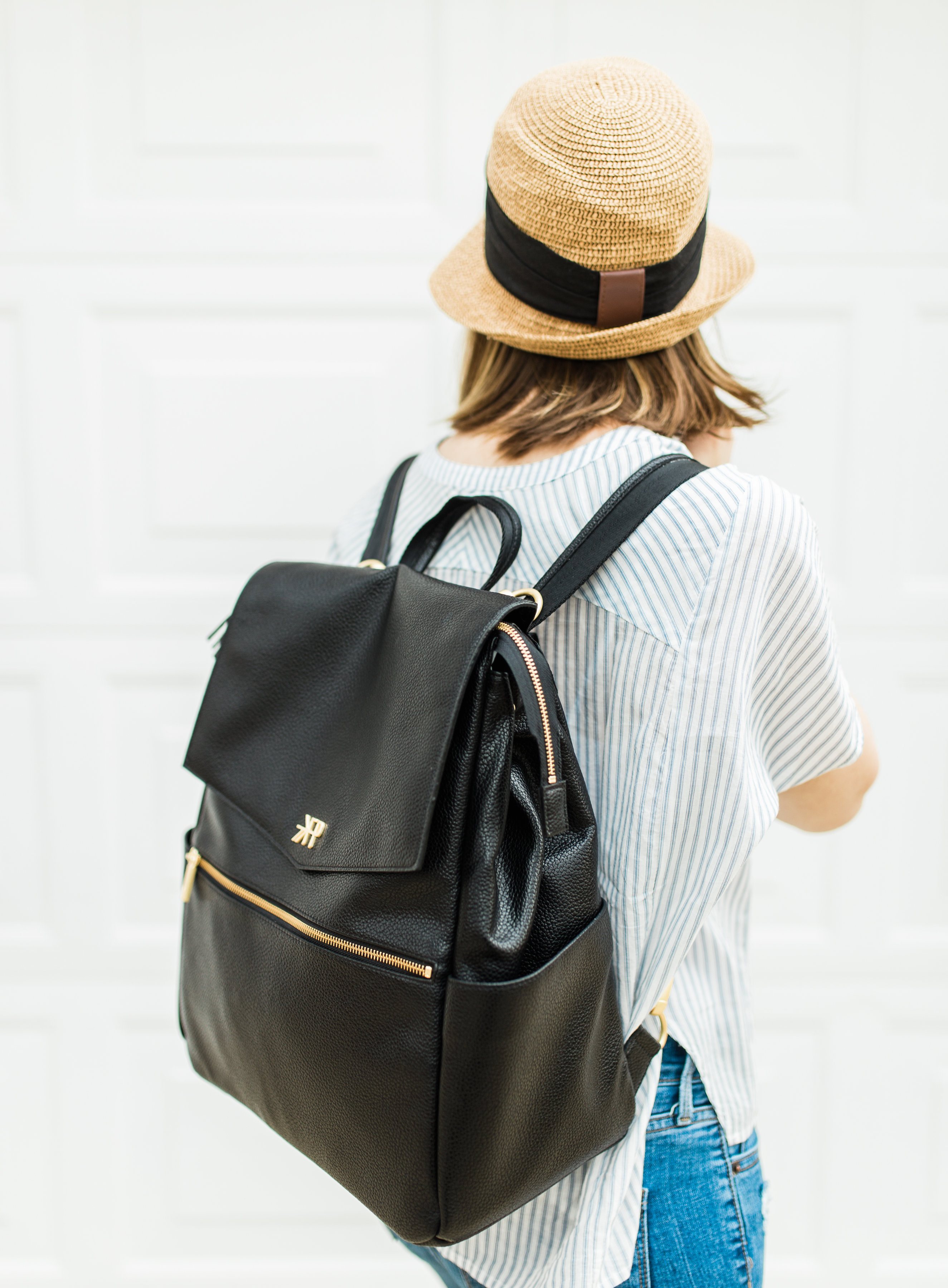 An honest review of the Freshly Picked Diaper Bag as a mom of a toddler and a baby. (The Perfect Option for Stylish, On-the-Go Moms) | glitterinc.com | @glitterinc - Freshly Picked Diaper Bag review by popular North Carolina style blogger Glitter, Inc.