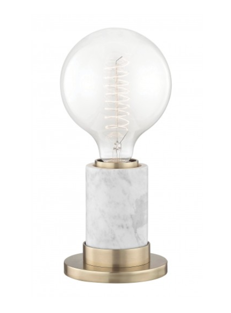 Lulu & Georgia Jolina Table Lamp in White Marble - Weekly Finds by popular North Carolina style blogger Glitter, Inc.