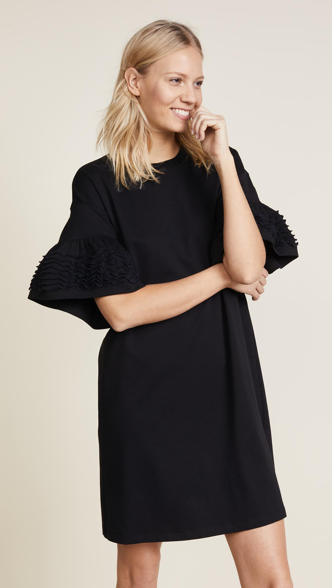 See By Chloé Frilly Jersey Dress