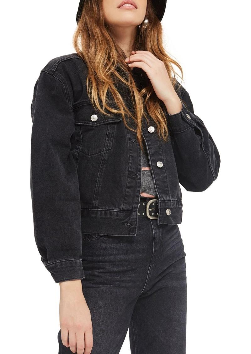 Topshop Boxy Crop Denim Jacket - Weekly Finds by popular North Carolina style blogger Glitter, Inc.