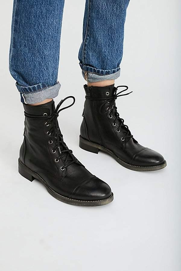 FP Collection Portland Lace-Up Boot