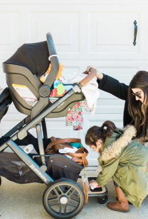 The Dream Stroller That Grows With Your Family: UPPAbaby VISTA by popular North Carolina mom blogger Glitter, Inc.