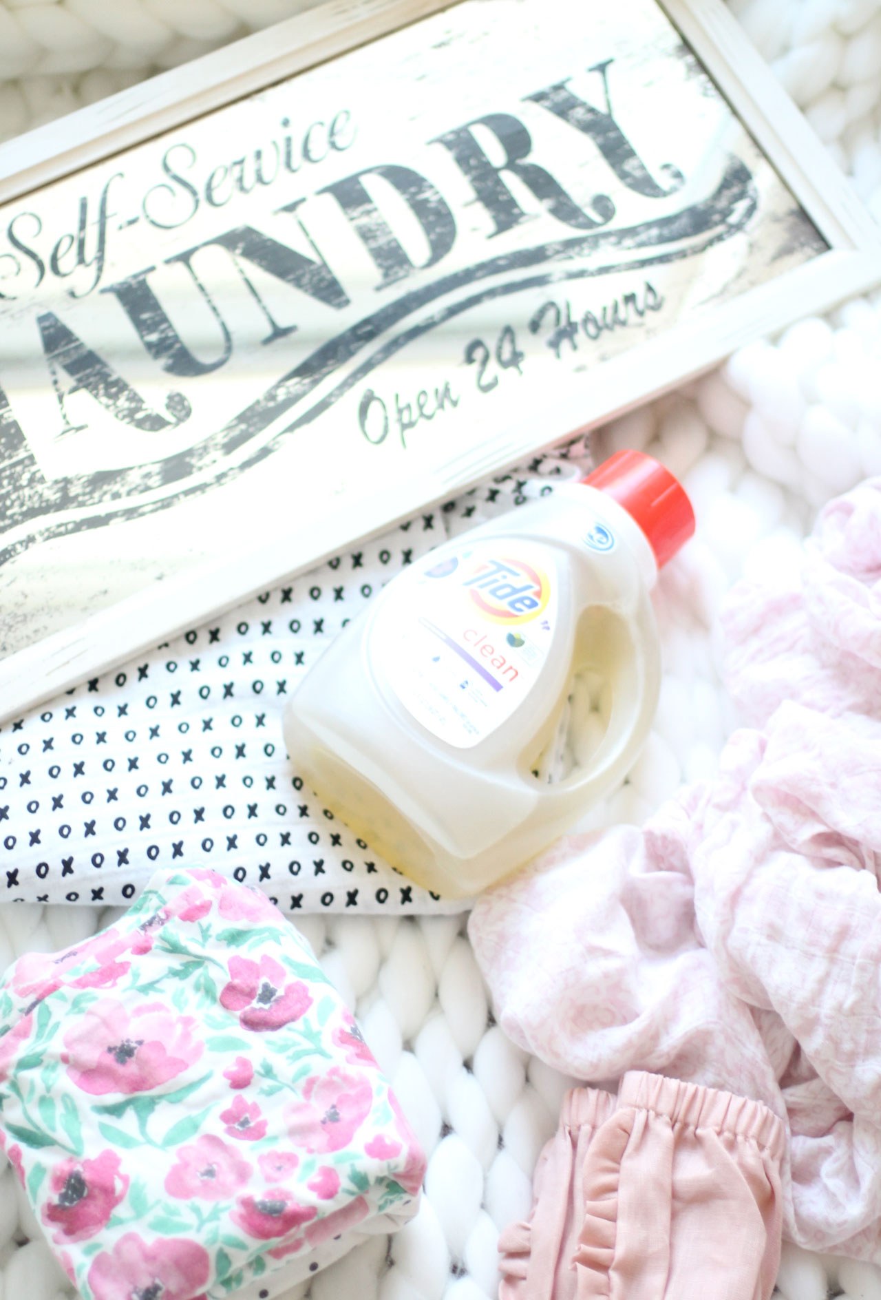 Lifestyle blogger Lexi of Glitter, Inc. shares how to stay on top of the family laundry with 10 simple tips ... so you won't loathe laundry day. | glitterinc.com | @glitterinc - 10 Tips for Staying on Top of Family Laundry by popular North Carolina lifestyle blogger Glitter, Inc.