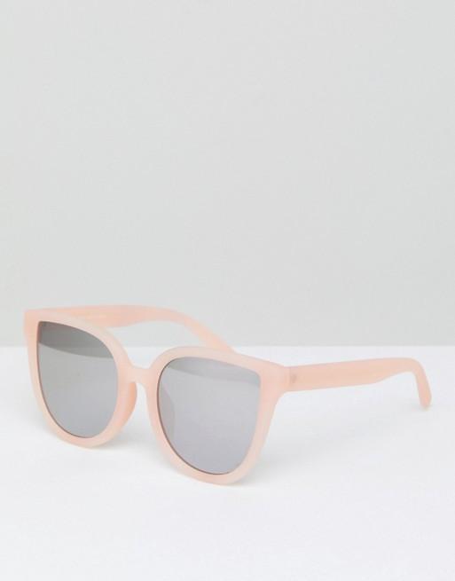 Bershka Cat Eye Sunglasses In Pink - Weekly Finds by popular North Carolina style blogger Glitter, Inc.