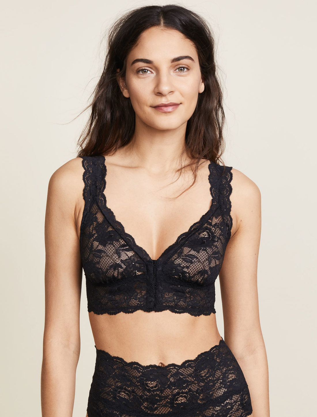 Cosabella Never Say Never Happie Front Closure Bra - Shopbop sale recommendations by popular North Carolina fashion blogger Glitter, Inc.