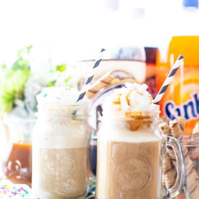 Make Your Own Root Beer Float Bar