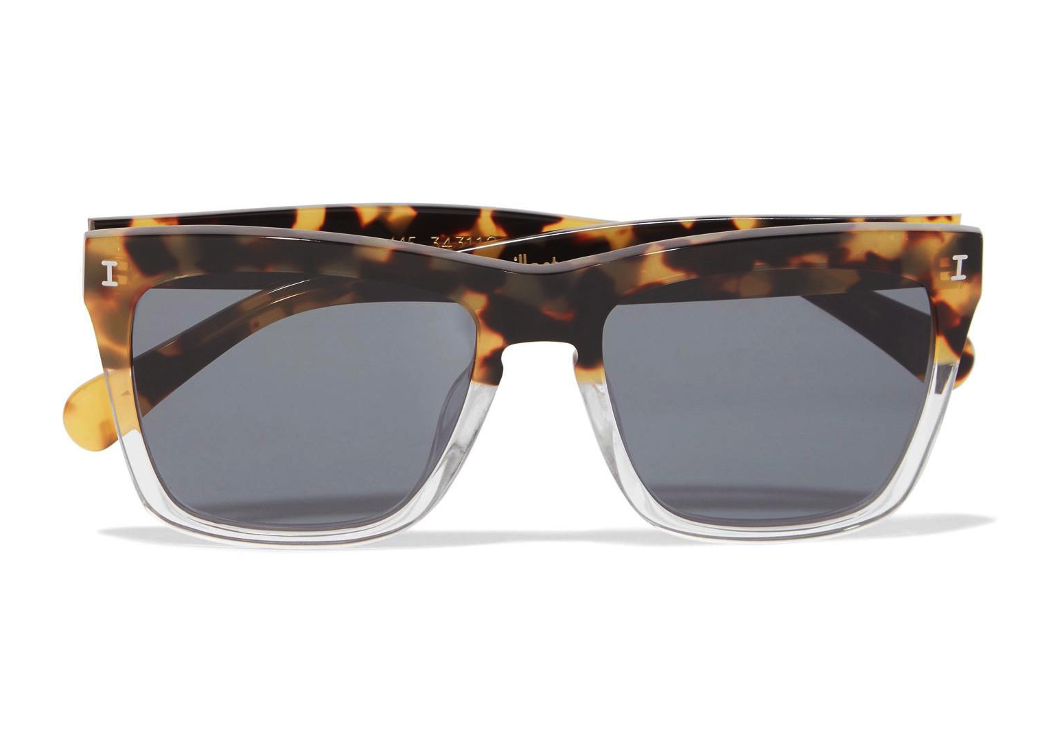 Illesteva Los Feliz Square Frame Sunglasses in Tortoiseshell - Weekly Finds featured by North Carolina style blogger, Glitter, Inc.