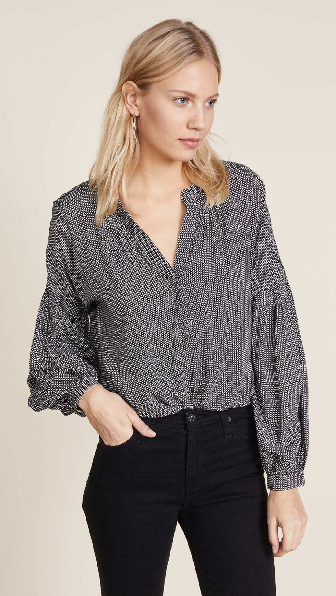 Joie Azabeth C Blouse  - Shopbop sale recommendations by popular North Carolina fashion blogger Glitter, Inc.