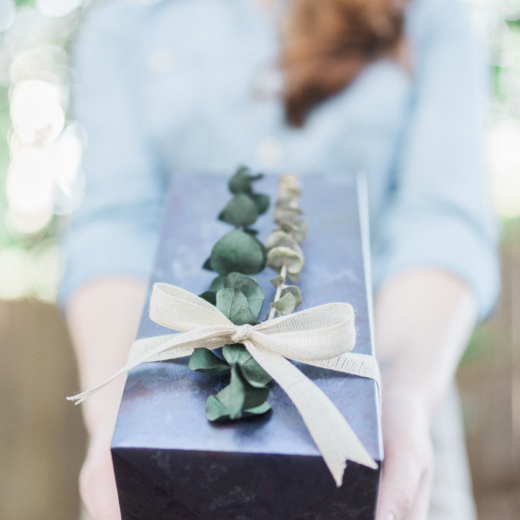 How to Master Gift Wrapping Like A Pro; Plus, A Trick to Repurpose Leftover Flowers