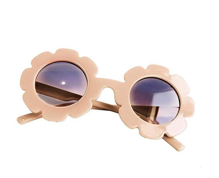 Stylish Round Flower Sunglasses