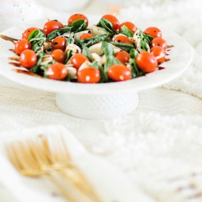 Simple Caprese Skewers With Balsamic Drizzle - A Perfect Appetizer