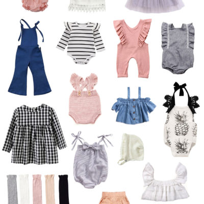Adorable Amazon Outfits for Baby Girls and Toddlers by popular North Carolina style blogger, Glitter, Inc.