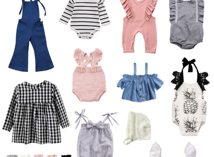 30 Adorable Amazon Outfits for Baby Girls and Toddlers (All Under $20!)
