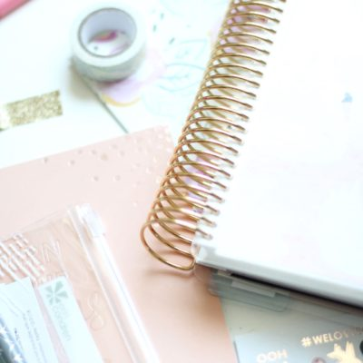 The Erin Condren LifePlanner (And An Awesome Giveaway!)