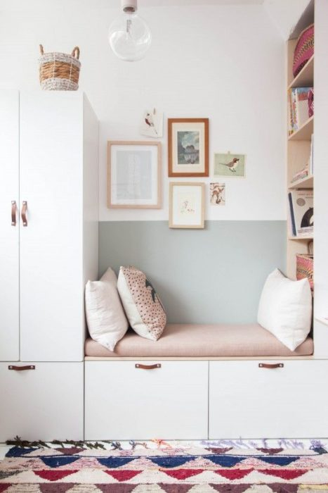 Kids Room Ikea Hack for Storage