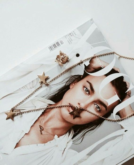Vogue and Necklace