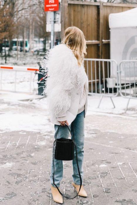 fluffy white coat love