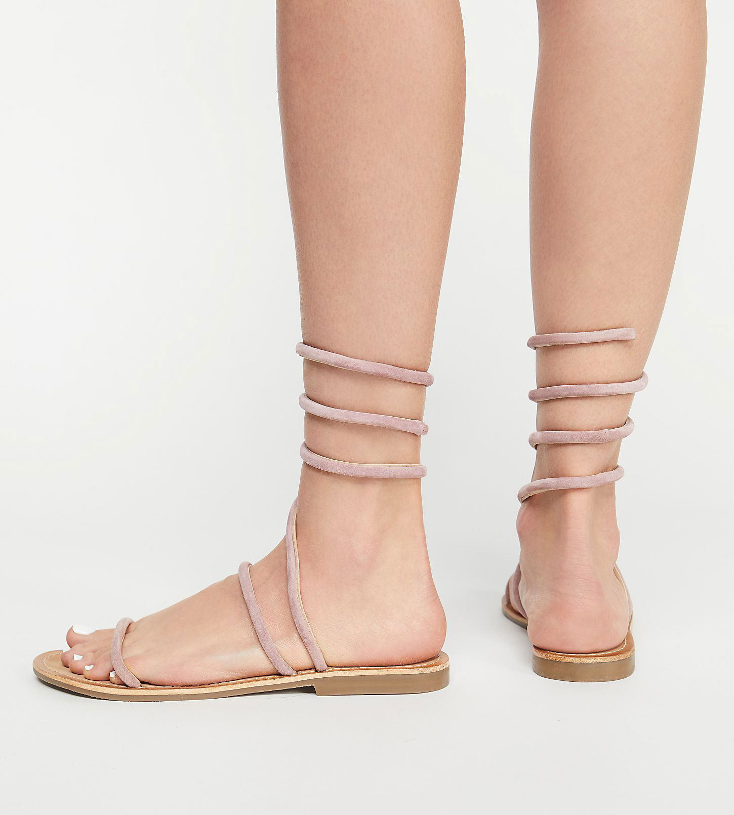 Free People Havana Wraparound Gladiator Sandals