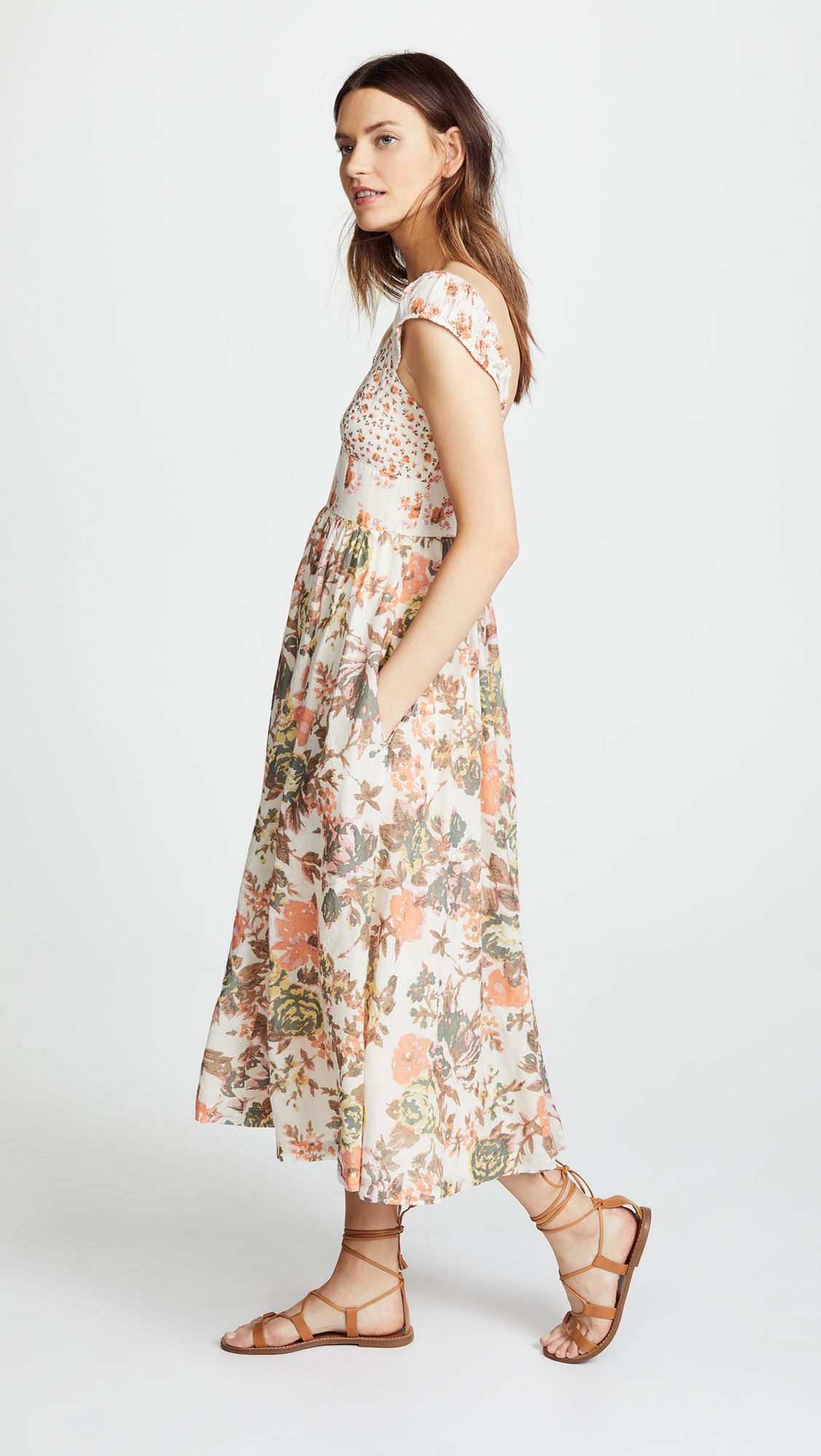 Free People Love You Midi Dress