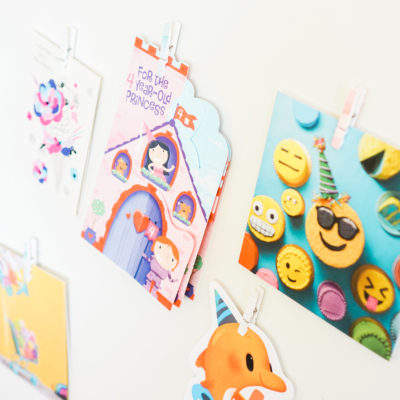 Memorable Birthday Traditions: A Sweet Way to Display Cards in Your Kids' Playspace