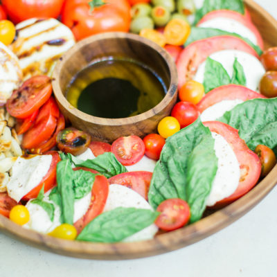 How to Make a Caprese Salad Platter With Wow Factor