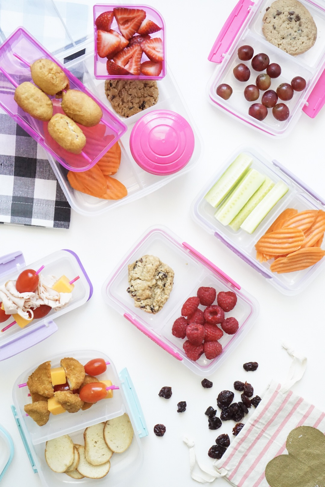 20 Lunch Ideas Your Kids Will Love + How I Meal Prep School Lunch ...