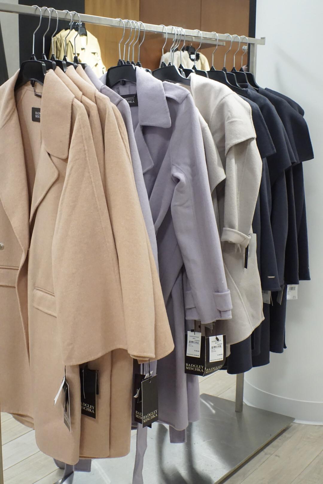 Nordstrom Anniversary Sale - Badgley Mischka coats