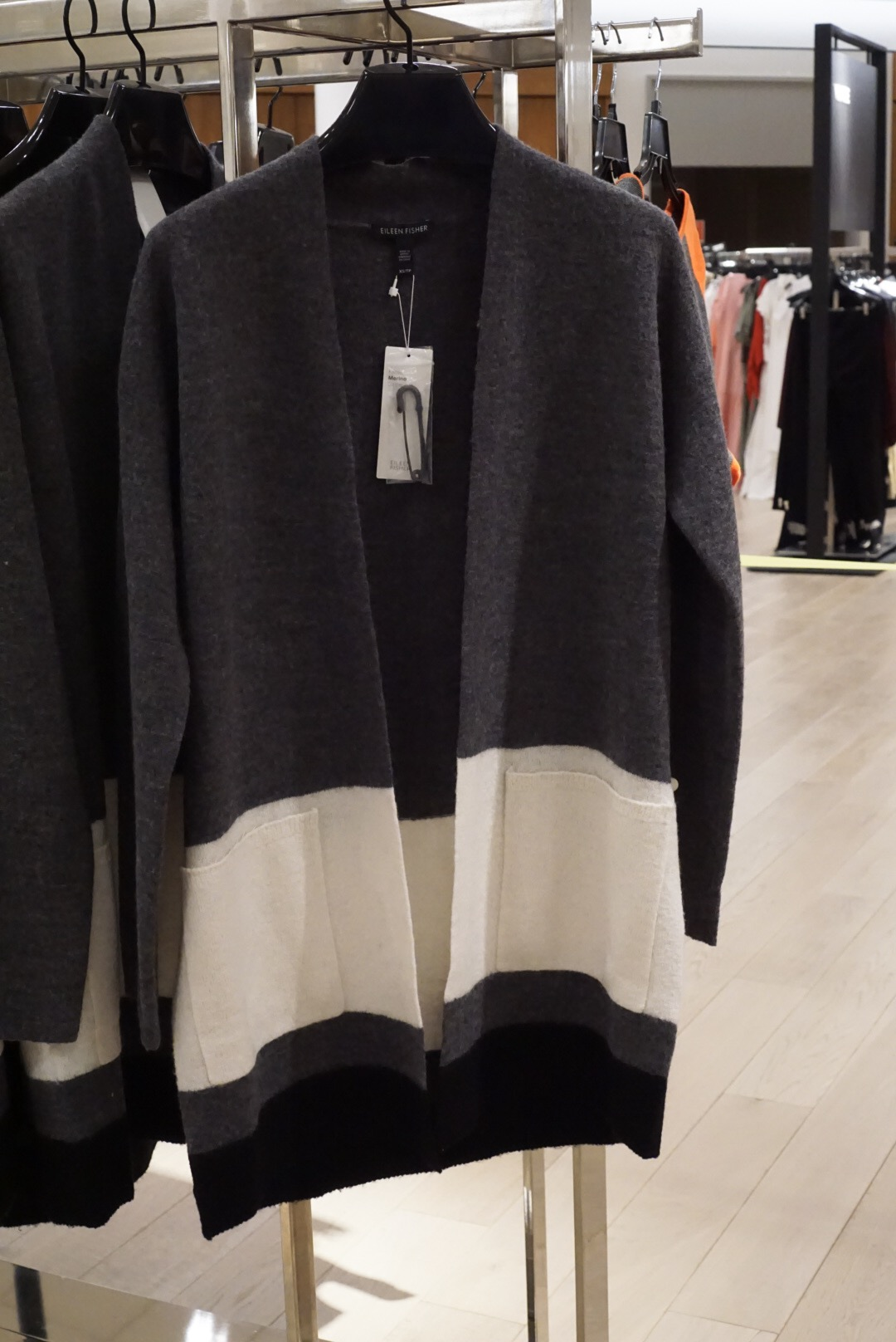 Eileen Fisher Cashmere and Wool Cardigan