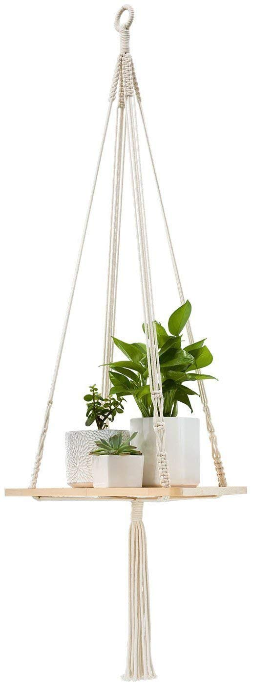 Macrame Shelf Hanging Planter Plant Hanger