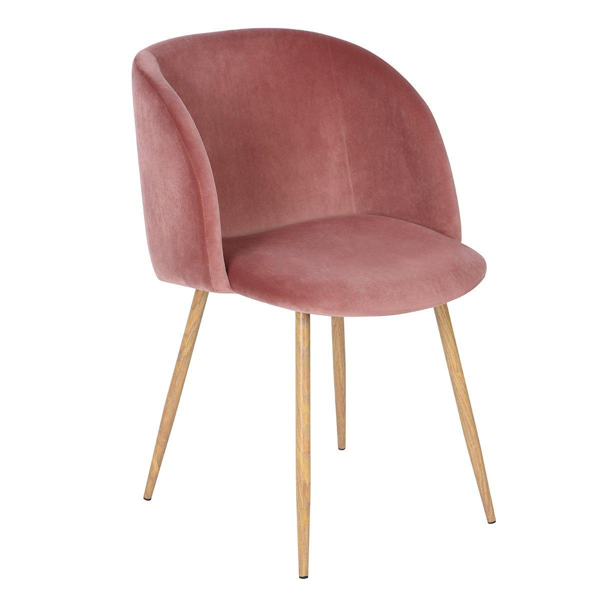 Mid-Century Velvet Accent Upholstered Armchair