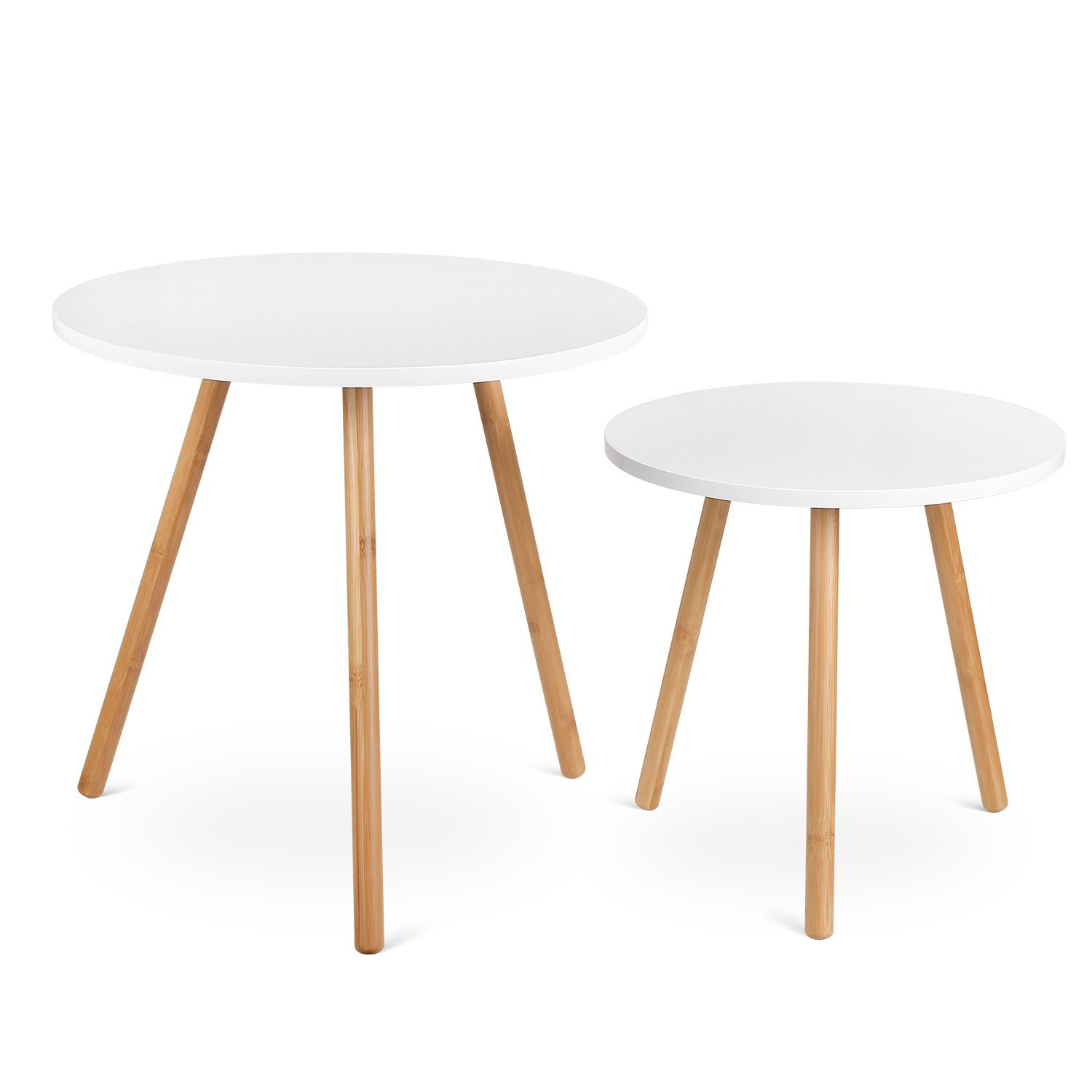 Modern Nesting Coffee End Tables from Amazon