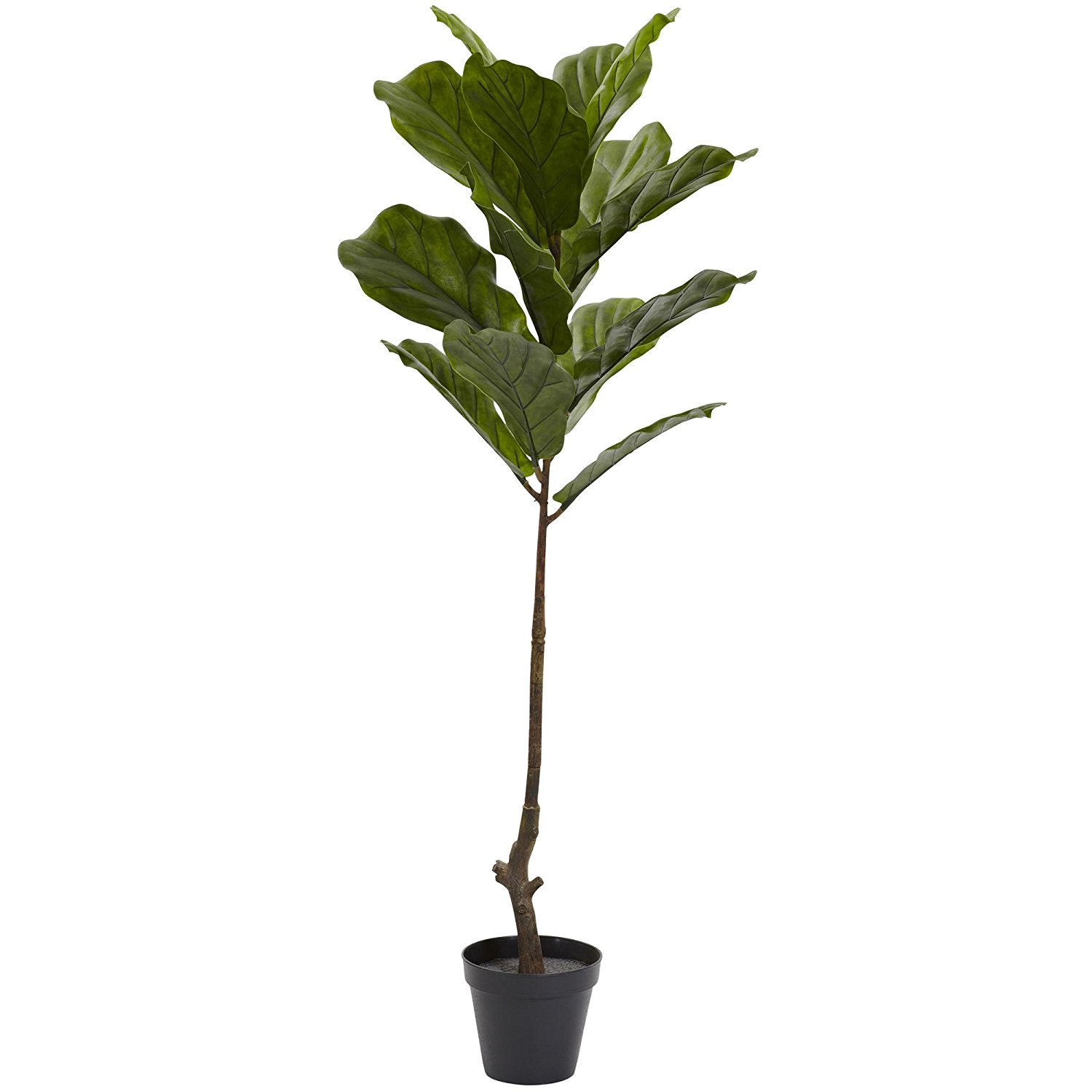 Nearly Natural Fiddle Leaf Indoor/Outdoor Tree