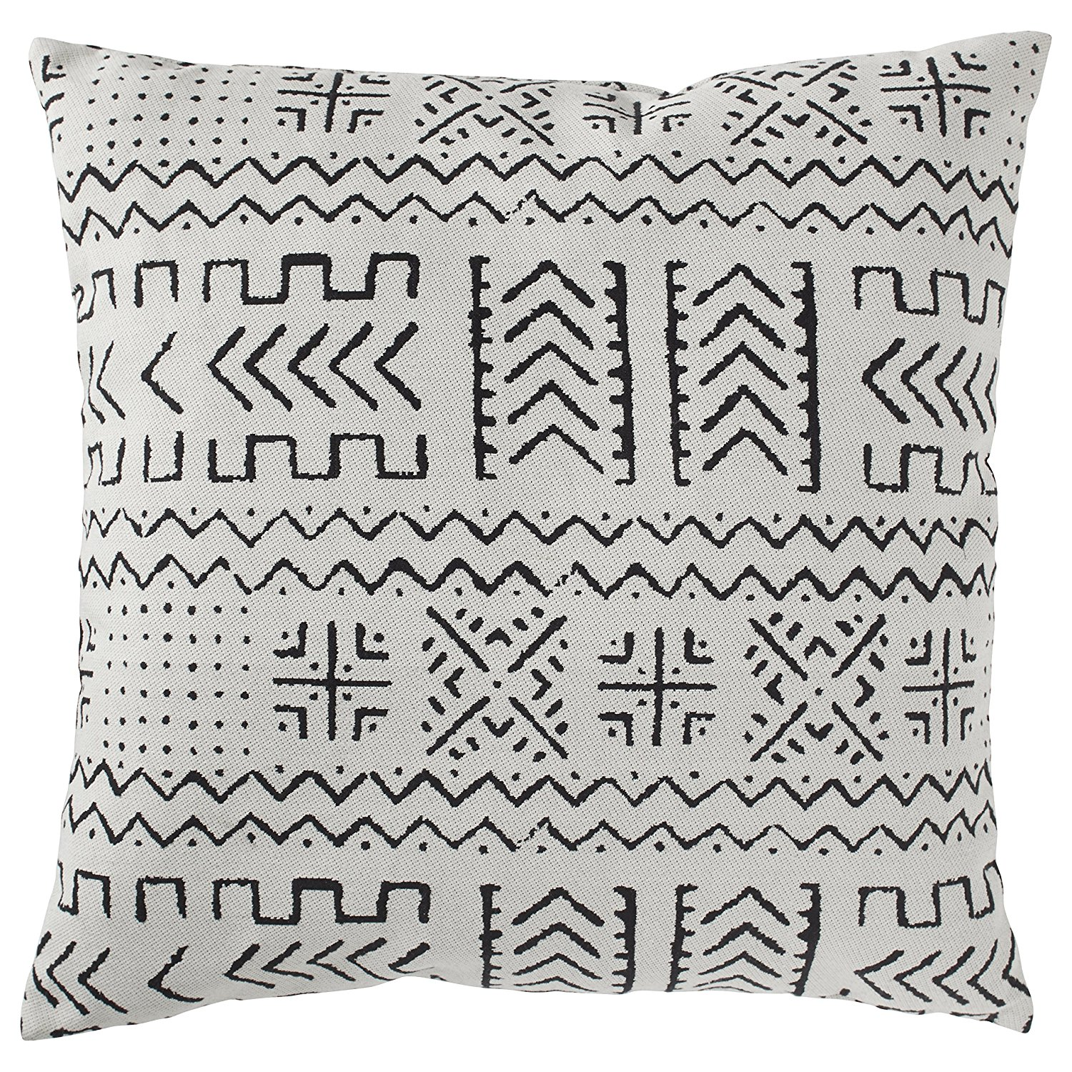 Rivet Mudcloth-Inspired Pillow on Amazon