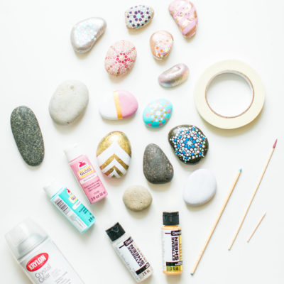 Easy Craft for the Whole Family: DIY Painted Rocks