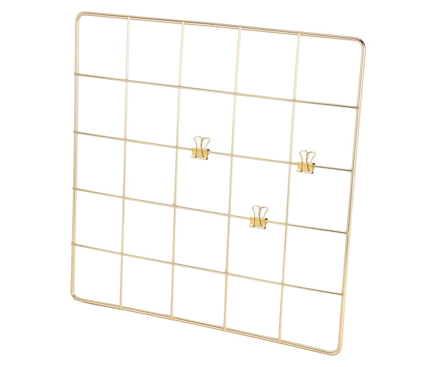 Target Threshold Wall Grid, Gold