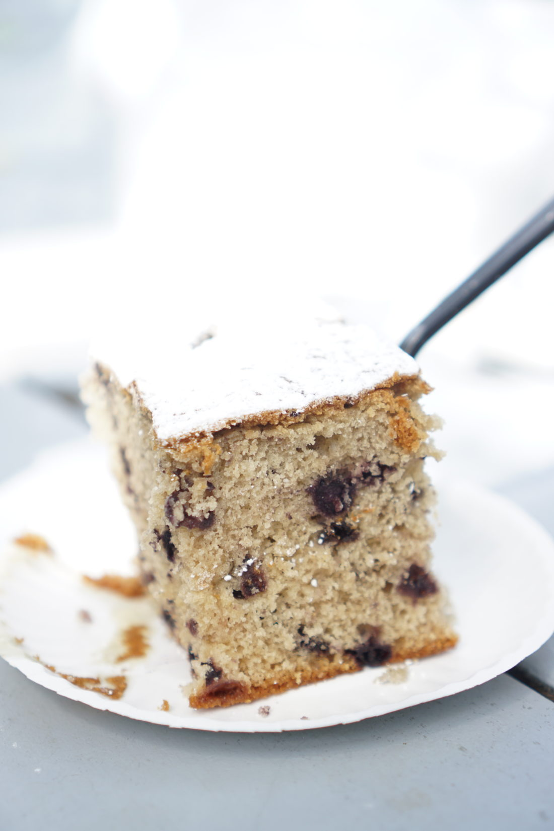 the highly coveted blueberry cake | glitterinc.com | @glitterinc