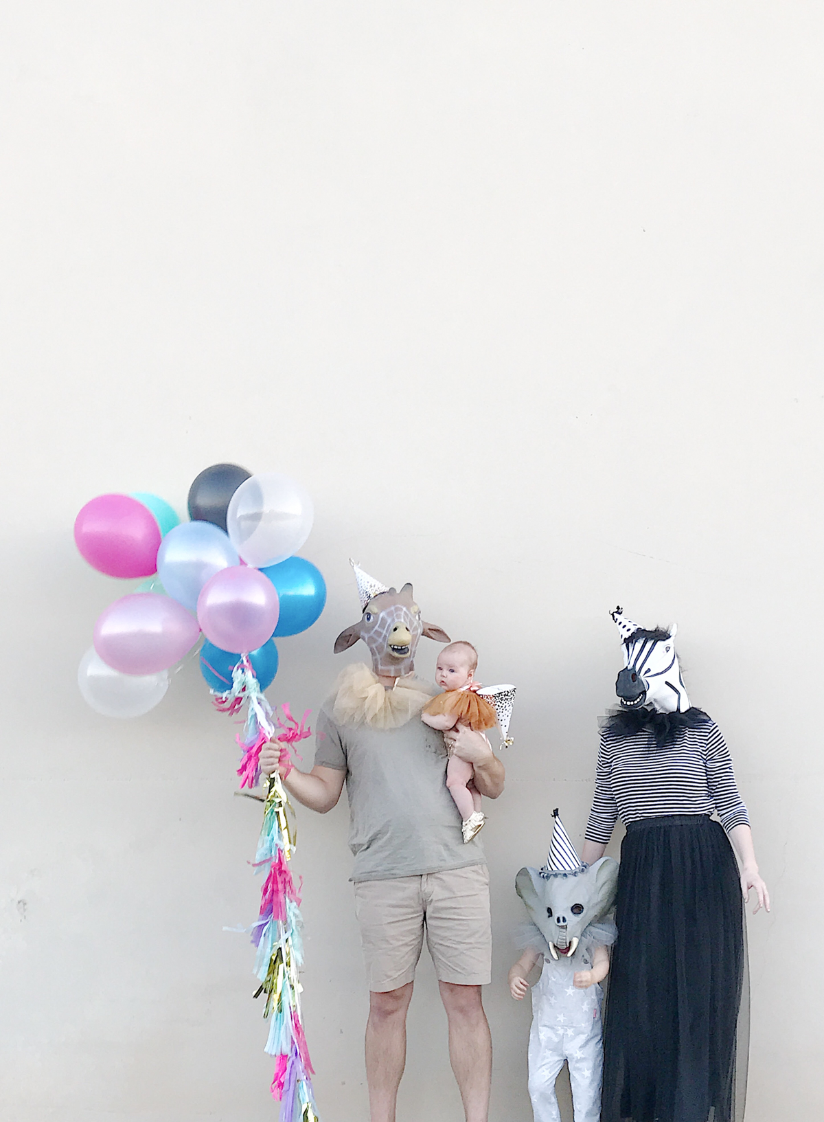 10 Adorably Awesome Halloween Costumes for Family, Kids, and Babies, including these Easy DIY Family Party Animals - Circus Theme. Click through for plenty of fun DIY costumes for families. #halloween #halloweencostumeideas #familyhalloweencostume #familyhalloweencostumeideas | glitterinc.com | @glitterinc