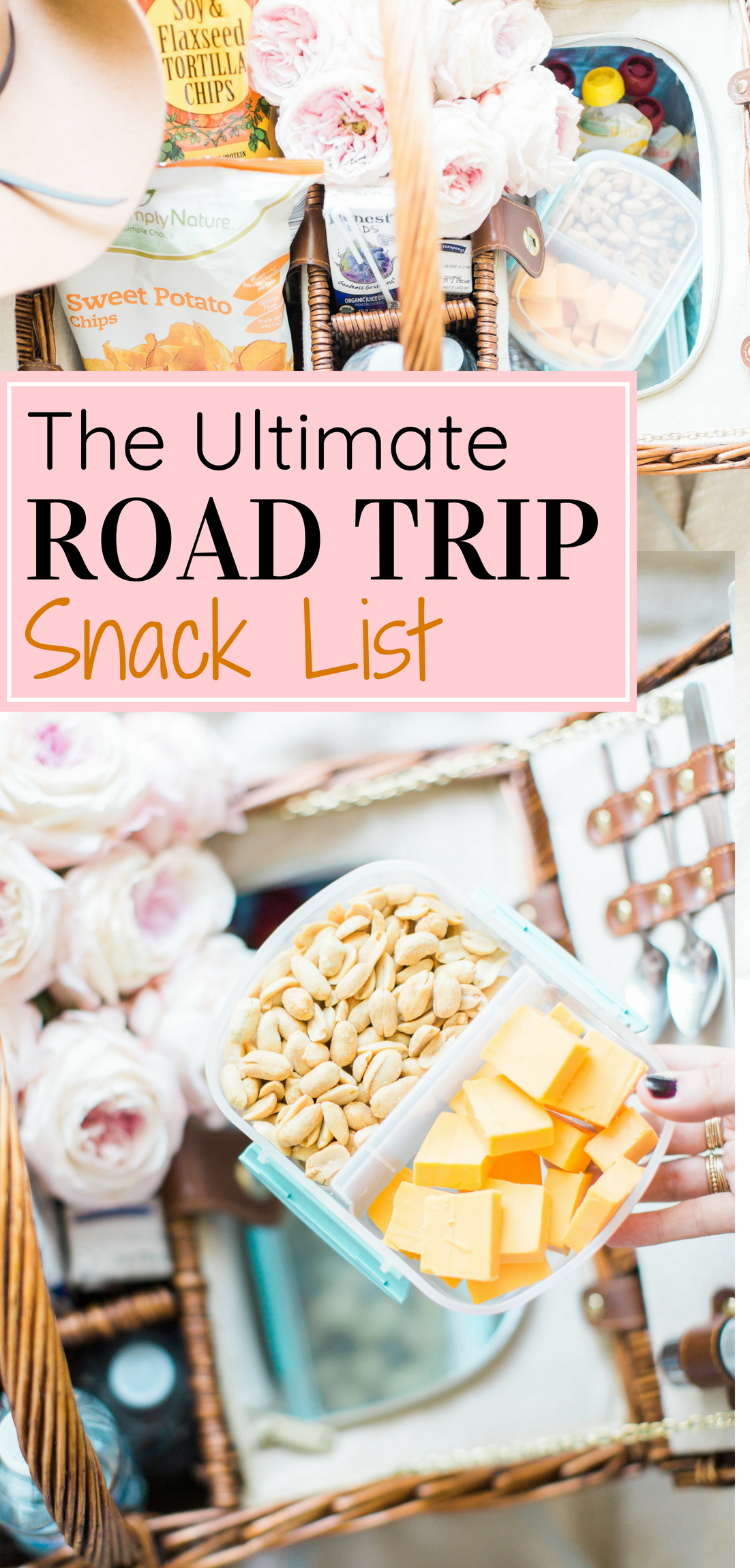 Traveling with your family on a big road trip? These are the best snacks for the whole family, with healthy and homemade options, plus how to pack them, and what you can use to make your road trip just a little bit easier with babies and kids! #roadtrip #roadtripsnacks #familyroadtrip #vacation #travel #travelwithkids #familytravel #familyvacation Click through for the details. | glitterinc.com | @glitterinc
